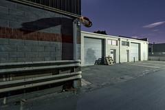 IP (Andrew_Dempster) Tags: longexposure nightphotography urban building night au bricks australia warehouse sa railing norwood pallets southaustralia bollard rollerdoors kenttown streamlinerdigitaldocuments