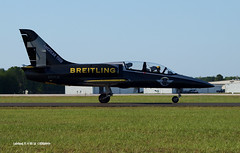 160408_119_BreitlingESYLN1 (AgentADQ) Tags: show sun plane airplane fun team tour czech aviation air jet n airshow american albatros aero flyin l39 breitling 2016 esyln