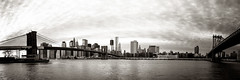 New York City from Brooklyn (Zeeyolq Photography) Tags: city panorama usa newyork skyline buildings manhattan