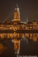 Deventer night city scape (Elroy Spelbos) Tags: nightphotography night landscape cityscape nacht scape deventer landschap nachtfotografie stadsbeeld