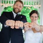 "<b>Zimmerman Linderman #1</b><br/> Rachel Zimmerman '13 and Andrew Linderman '12 were married last summer.<a href=""http://farm8.static.flickr.com/7486/15202477953_f1d257e502_o.jpg"" title=""High res"">∝</a>"
