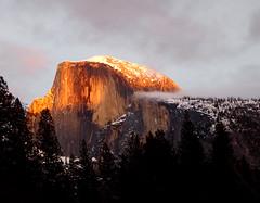 Half Dome, Yosemite National Park, at Sunset (JFGryphon) Tags: yosemite halfdome