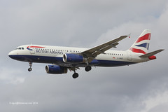 G-MIDT - 2001 build Airbus A320-232, on approach to Runway 27L at Heathrow (egcc) Tags: london heathrow airbus ba britishairways lhr 1418 a320 baw egll a320232 gmidt