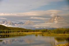 Grand Teton National Park (faungg's photo) Tags: travel trees usa mountain lake west nature landscape us scenery scenic western wyoming mountmoran   wy grandtetonnationalpark