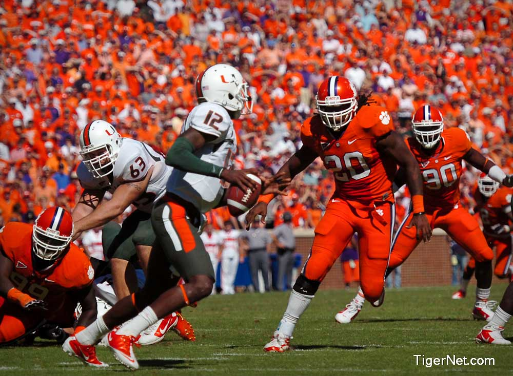 Clemson Photos: 2010, Brandon  Maye, Football, miami