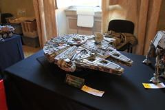 Lego-Millennium Falcon (Chickenhawk72) Tags: italy comics star italia lego games lucca millennium tuscany falcon wars 2014 10179
