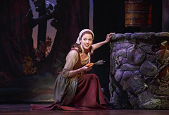 Paige Faure in Rodgers + Hammerstein's Cinderella presented by Broadway Sacramento at the Sacramento Community Center Theater May 12 – 17, 2015. Photo by Carol Rosegg.