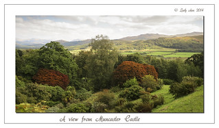A view from Muncaster Castle
