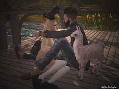 You + Me (mollielane88) Tags: lake fall love geek avatar avi sl secondlife