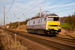 East Coast Class 91 91103 (Barry Duffin) Tags: uk sky london clouds train nikon rail railway trains blunt doncaster retford ecml eastcost class91 91103 gamston d3000