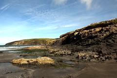Rocky shoreline (Ghazghul) Tags: beach wales 1020mmf456exdc sigma nikon d300s