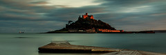 St Michael's Mount (Dom Haughton) Tags: sunset sea beach water cornwall tide stmichaelsmount canoneos70d