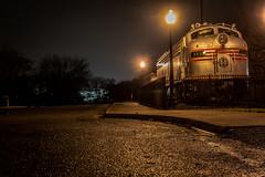 Main St. Train (GDM_ILLregulr) Tags: road railroad shadow abandoned train shadows empty rail abandonment emptiness aifw fall2014 illregulr phoa103 shadowandemptiness