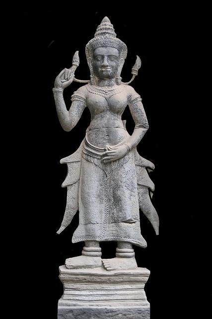 Cambodia - Ta Prohm Temple - Devata - 02b