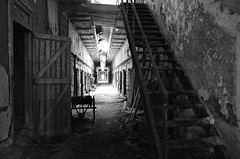 Prison corridor. (Don Mosher Photography) Tags: abandoned ruins decay prisons urbex