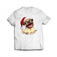 Xmas Pug (stabilitees-com) Tags: xmas dog fashion hoodie funny top pug tshirt trend tee funnytshirt