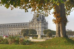 VIDOMSV: The Tuileries, Jardin du Carrousel (G-daddyArt) Tags: morning paris france garden louvre jardin tuileries hdr carrousel