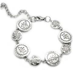 5th Avenue Silver Bracelet P9212-2