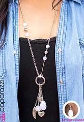 5th Avenue White Necklace K3 P2630-4