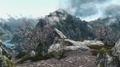 049 Sky Haven Temple hidden in the clouds (tr_eb_ron) Tags: game landscape pc screenshot mod gaming rpg mods enb theelderscrolls realclouds realvision skyrim tesv theelderscrollsv