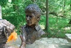 Jim Cronin Sculpture, Monkey World (DorsetBelle) Tags: animals dorset monkeys apes monkeyworld primates jimcronin