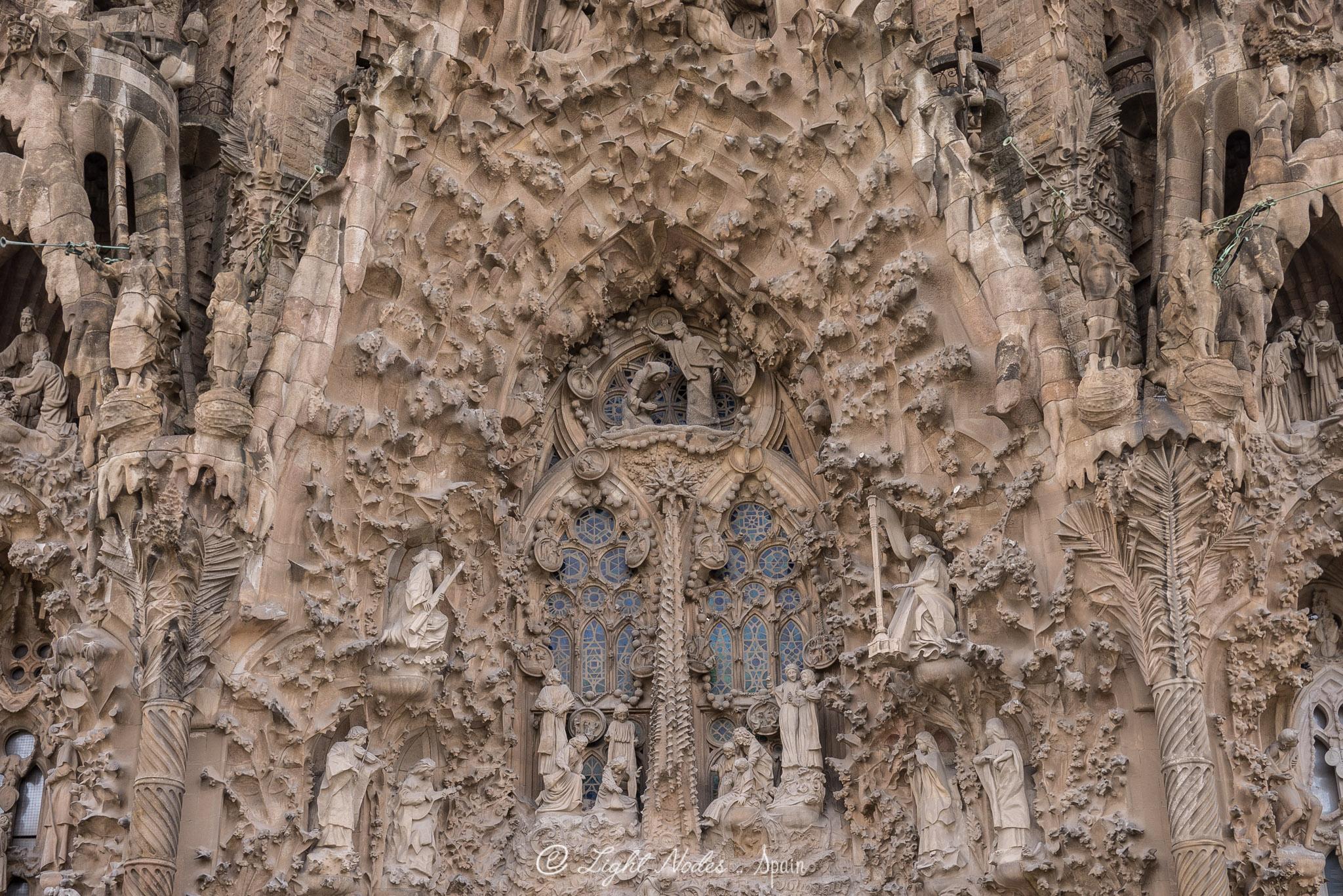 La Sagrada Família (Gaudi designed Church), Barcelona with GX7