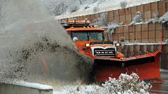 Utah Department of Transportation Snow Plow (zamboni-man) Tags: winter rescue mountain snow ski bus shower hill dot resort international plow mack plough snowplow whelen