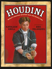 Houdini:  World's Greatest Mystery Man and Escape King (Vernon Barford School Library) Tags: new school history mystery reading book high eric escape kathleen library libraries magic hard reads harry books read cover junior historical covers bookcover middle velasquez vernon biography magicians recent bookcovers nonfiction magician hardcover houdini krull escapeartists barford biographies hardcovers 9780802796462