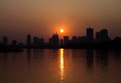 Nanning  (nationkb) Tags: china sunset sun skyline cityscape  earthbound nanning guangxi   runaway5