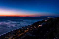 FR2015-01-0134 (pietro.photo) Tags: blue red sea italy cliff france beach sunrise dawn nikon cremona d4 leucate pietrodiotti