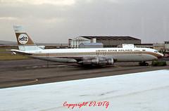 Boeing 707-324C TF-VLJ Libyan Arab (EI-DTG) Tags: shannon boeing boeing707 planespotting snn shannonairport einn aircraftspotting tfvlj libyanarab 9vbew