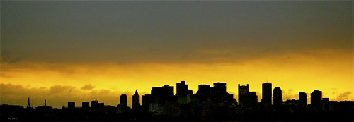 """Boston at Sunrise • <a style=""""font-size:0.8em;"""" href=""""http://www.flickr.com/photos/52364684@N03/16128826939/"""" target=""""_blank"""">View on Flickr</a>"""
