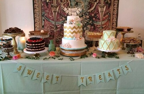 """A dessert table consisting of cake, pies, cookies and bars! • <a style=""""font-size:0.8em;"""" href=""""http://www.flickr.com/photos/50891271@N03/16140855009/"""" target=""""_blank"""">View on Flickr</a>"""