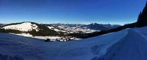 17.000 Schritte Winterwanderung. Kannste nich meckern. #Bödele