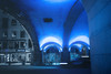 Blue night (Ornaim) Tags: city bridge blue color colour car night nikon sweden stockholm monochromatic sverige tamron suede lightroom norrmalm d610 hotorget