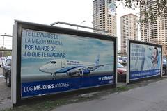 Interjet (So Cal Metro) Tags: promotion advertising marketing bcn ad billboard airline bajacalifornia baja tijuana tj tij sukhoi ssj superjet interjet ssj100