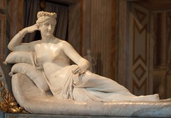 Paolina Borghese come Venere Vincitrice - Antonio Canova - Galleria Borghese (Martino from Belluno) Tags: roma antonio galleria venere canova borghese 2015 paolina vincitrice