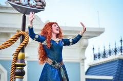 FoF - Brave (EverythingDisney) Tags: princess disney parade disneyworld merida brave wdw waltdisneyworld magickingdom fof princessmerida festivaloffantasy