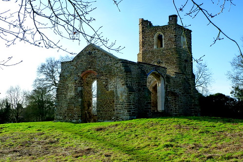 The Old Church Ruins at Clophill