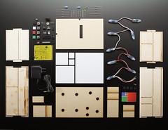 New Product - Fibonacci Clock Kit (adafruit) Tags: new cool time math kits projects clocks mathematicians adafruit