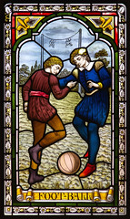Football (Kev Gregory (General)) Tags: world old windows friends red two game building london college home glass sport century hospital garden joseph bedford hall football war estate cross fussball swiss clayton fifa soccer great victorian engineering style grade lancashire stained architect henry ii lincoln second theme mansion gregory warden sir sporting kev shuttleworth samuel merchant firm 3rd services 17th baron agricultural listed airmen clutton jacobean auxiliary ashlar gawthorpe convalescent ongley