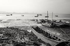Deep Bay (debbykwong) Tags: leica blackandwhite boats hongkong fishingvillage deepbay  laufaushan lifeinblackandwhite leicaq
