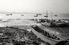 Deep Bay (debbykwong) Tags: leica blackandwhite boats hongkong fishingvillage deepbay 流浮山 laufaushan lifeinblackandwhite leicaq