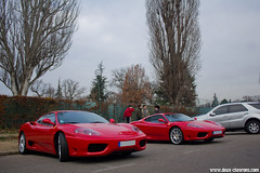 Cars & Coffee Paris 12/2011 - Ferrari 360 Challenge Stradale (Deux-Chevrons.com) Tags: auto paris france classic cars coffee car automobile 360 automotive ferrari voiture collection coche cs modena challenge stradale ancienne prestige classique ferrari360modena carscoffee ferrari360challengestradale