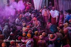 Barsana Nandgaon Lathmar Holi Low res (42 of 136) (Sanjukta Basu) Tags: holi festivalofcolour india lathmarholi barsana nandgaon radhakrishna colours