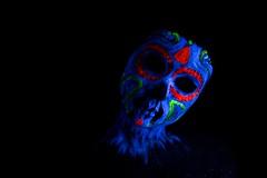 IMG_9853 (esperanzagoi) Tags: color mexicana photo model chica uv colores modelo calavera fotografa luznegra fondonegro ultravioleta