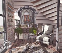 Rodas Home Entry (Luna Jubilee / !bang poses) Tags: interiors secondlife decorating soy anc decor hive bazar floorplan theloft keke notsobad haikei applefall schultzbros scarletcreative kalopsia verspertine cheekypea