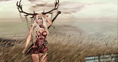 The journey is half the adventure (roxi firanelli) Tags: skye yummy fantasy secondlife storybook damselfly dm fa belleza deviousmind bauhausmovement fallenarms axix weloveroleplay