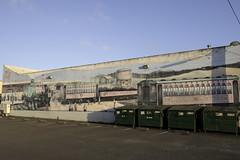 Ft Bragg Train Mural (dcnelson1898) Tags: california art outdoors photography coast nikon mural wallart trains highway1 pacificocean fortbragg mendocinocounty