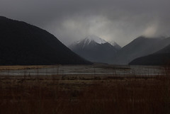 They Will Be Wearing White Tops (Steve Taylor (Photography)) Tags: trees newzealand cloud mist mountain cold forest river landscape eerie canterbury nz southisland southernalps
